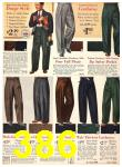 1940 Sears Fall Winter Catalog, Page 386