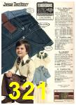 1976 Sears Fall Winter Catalog, Page 321