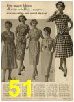 1959 Sears Spring Summer Catalog, Page 51