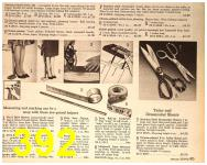1964 Sears Spring Summer Catalog, Page 392