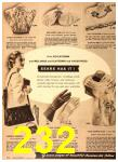 1949 Sears Spring Summer Catalog, Page 232