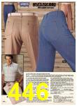 1983 Sears Spring Summer Catalog, Page 446
