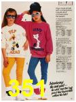 1987 Sears Fall Winter Catalog, Page 351