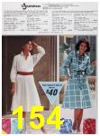 1985 Sears Spring Summer Catalog, Page 154