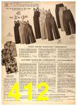 1956 Sears Fall Winter Catalog, Page 412