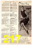 1972 Montgomery Ward Spring Summer Catalog, Page 217
