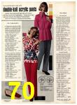 1973 Sears Fall Winter Catalog, Page 70