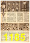 1958 Sears Spring Summer Catalog, Page 1185