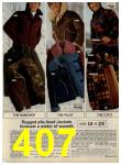 1972 Sears Fall Winter Catalog, Page 407