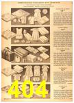 1958 Sears Spring Summer Catalog, Page 404
