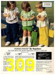 1974 Sears Spring Summer Catalog, Page 309