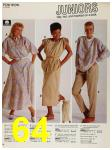 1987 Sears Spring Summer Catalog, Page 64