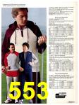1982 Sears Fall Winter Catalog, Page 553