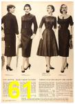 1956 Sears Fall Winter Catalog, Page 61