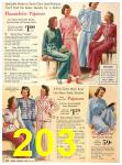 1940 Sears Fall Winter Catalog, Page 203