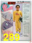 1986 Sears Fall Winter Catalog, Page 289