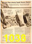 1958 Sears Fall Winter Catalog, Page 1038