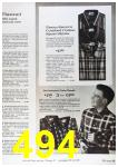 1964 Sears Fall Winter Catalog, Page 494