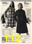 1973 Sears Fall Winter Catalog, Page 112