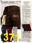 1982 Sears Fall Winter Catalog, Page 371