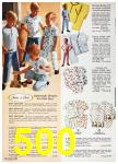 1967 Sears Spring Summer Catalog, Page 500