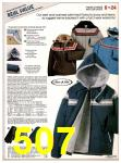 1982 Sears Fall Winter Catalog, Page 507