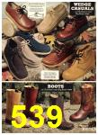 1976 Sears Fall Winter Catalog, Page 539