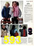 1983 Sears Fall Winter Catalog, Page 593