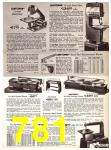 1969 Sears Fall Winter Catalog, Page 781