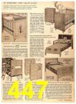 1956 Sears Fall Winter Catalog, Page 447