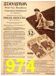1940 Sears Fall Winter Catalog, Page 974