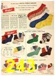 1949 Sears Spring Summer Catalog, Page 243