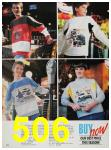 1988 Sears Fall Winter Catalog, Page 506