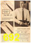 1960 Sears Fall Winter Catalog, Page 692