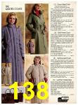 1982 Sears Fall Winter Catalog, Page 138
