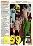 1978 Sears Fall Winter Catalog, Page 559