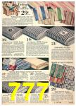 1940 Sears Fall Winter Catalog, Page 777