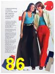 1973 Sears Spring Summer Catalog, Page 86