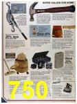 1986 Sears Fall Winter Catalog, Page 750