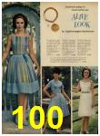1962 Sears Spring Summer Catalog, Page 100