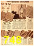 1942 Sears Spring Summer Catalog, Page 748