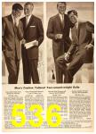 1958 Sears Spring Summer Catalog, Page 536
