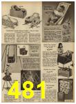 1962 Sears Spring Summer Catalog, Page 481