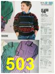 1988 Sears Fall Winter Catalog, Page 503