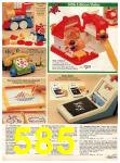 1982 Sears Christmas Book, Page 585