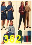 1962 Sears Fall Winter Catalog, Page 382