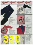 1986 Sears Fall Winter Catalog, Page 330
