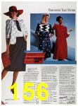 1986 Sears Spring Summer Catalog, Page 156
