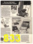 1974 Sears Fall Winter Catalog, Page 833