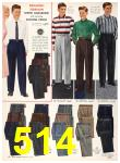 1956 Sears Fall Winter Catalog, Page 514